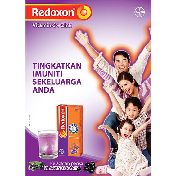 Redoxon POSM Campaign 2013