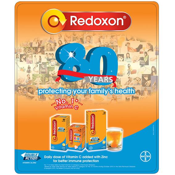 Redoxon POSM Campaign 2014