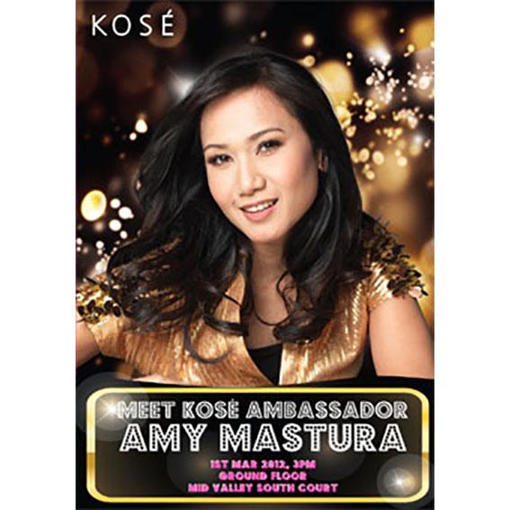 Amy Mastura poster