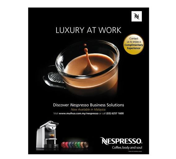 Nespresso Print Ad
