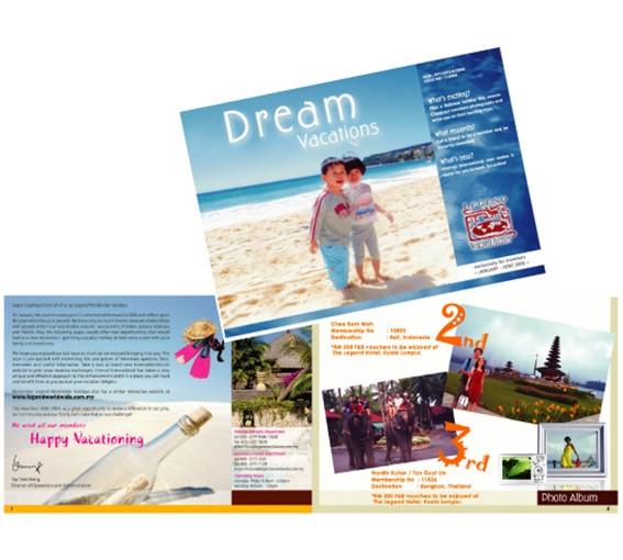 Legend Newsletter Design 2006