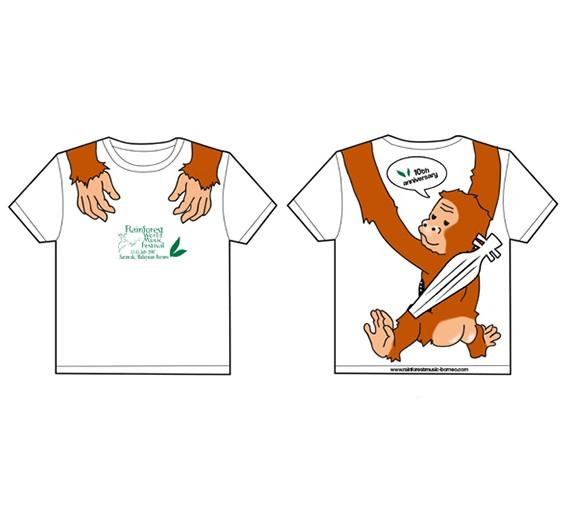 stb orangutan tshirt