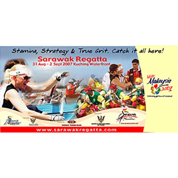 Sarawak Regatta Billboard