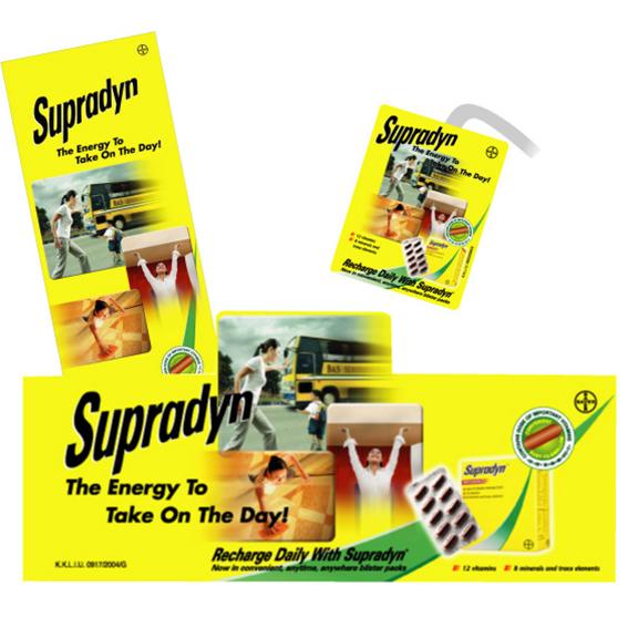 Supradyn POSM Campaign